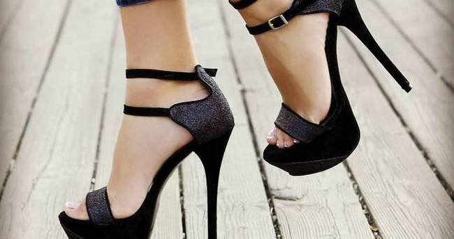 Topuklu ayakkabı giyenler dikkat