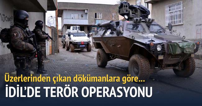 İdil'de terör operasyonu