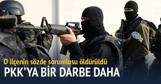 PKK'nın Sur sorumlusu öldürüldü