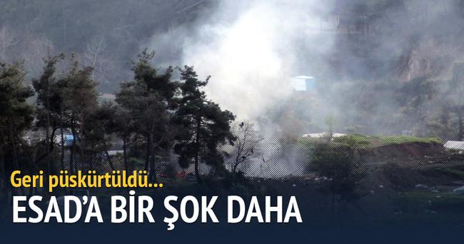 Suriye'de Türkmendağı'na yönelik saldırılar geri püskürtüldü