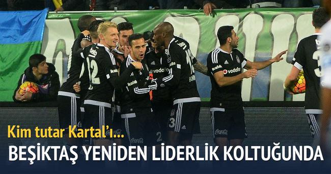 Beşiktaş, Rize deplasmanında liderliğe yükseldi