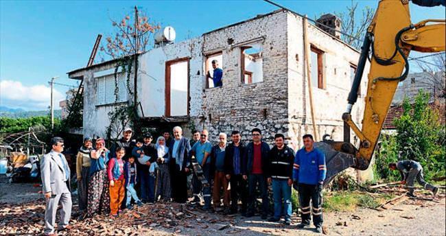 Kumluca'da kentsel dönüşüme başlandı