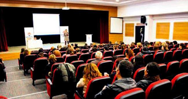 Velilere motivasyon semineri verildi
