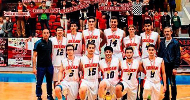 Erkan Koleji şampiyonluğu kazandı