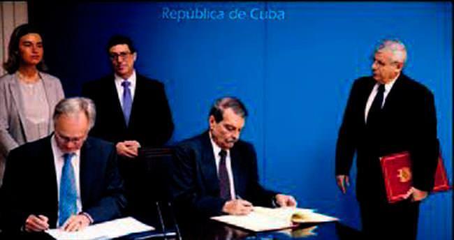 Küba-AB ilişkileri resmen normalleşti