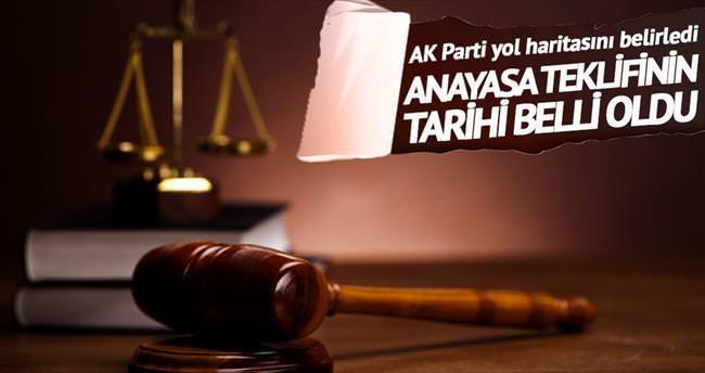 AK Parti'nin anayasa teklifi nisanda