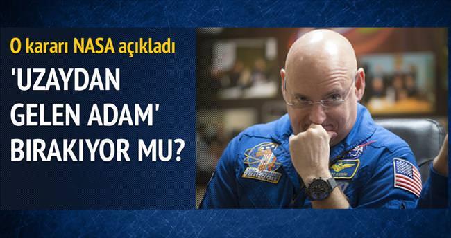 Uzayda en çok kalan adam emekli oluyor