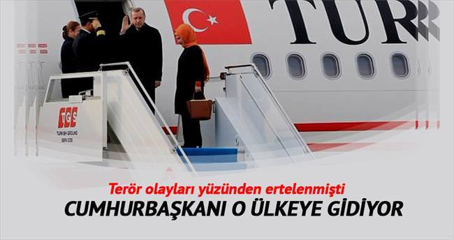 Erdoğan Bakü'ye gidiyor