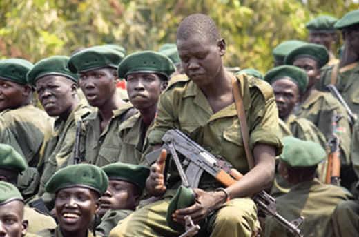 Güney Sudan'da askerlere 'tecavüz izni' vermiş