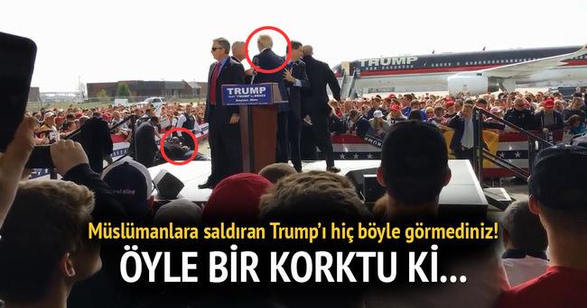 İslam düşmanı Trump'ın korkusu!