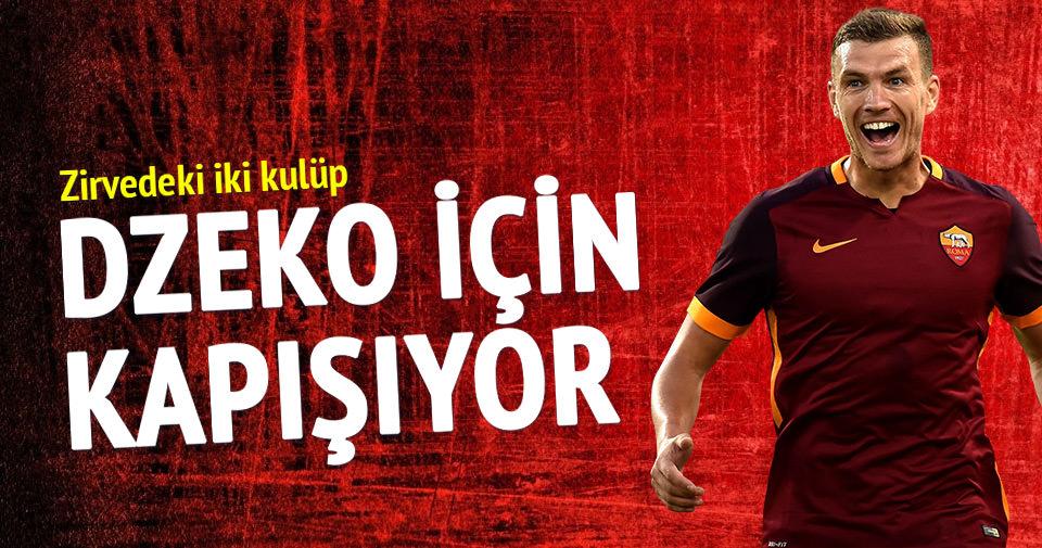 Fenerbahçe ve Beşiktaş Dzeko'yu istiyor!