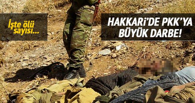 TSK: Hakkari'de 11 terörist öldürüldü!