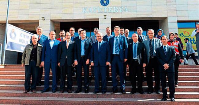 Kahramanmaraş'ta Giysi Bankası açıldı