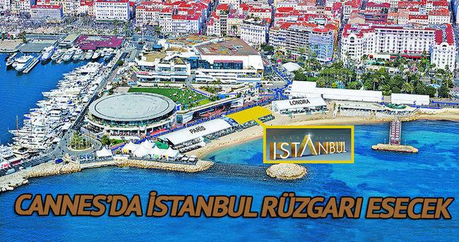 Cannes kumsalında 4 gün İstanbul rüzgarı esecek