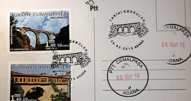'James Bond'un düştüğü köprü'ye özel posta pulu basıldı