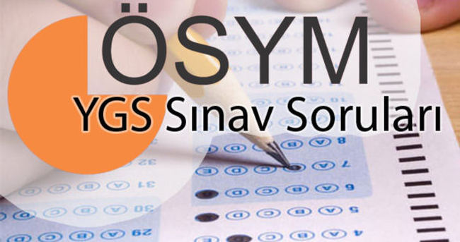 SON DAKİKA: YGS sınav soruları ve cevapları açıklandı - PDF olarak indir!