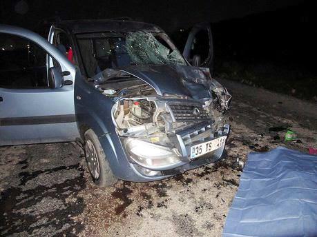 Manisa'da feci kaza: 2 ölü!