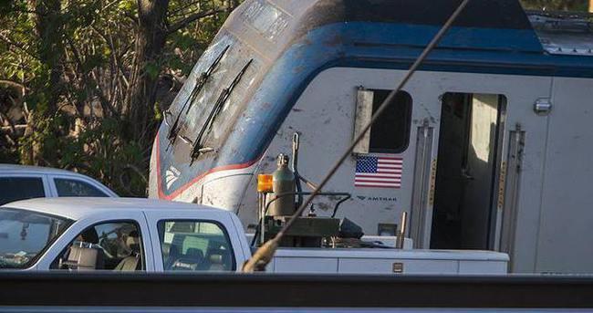 ABD'de tren faciası: 20 yaralı