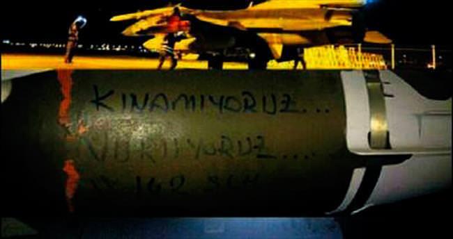 Kandil'e bomba yağdı