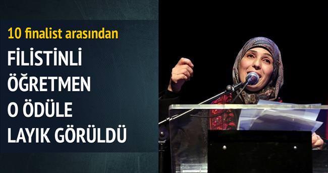 Eğitim Nobel'i Filistinli öğretmene