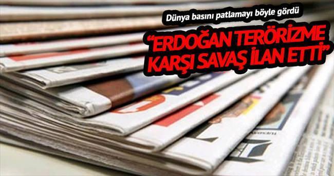 'Erdoğan terörizme karşı savaş ilan etti'