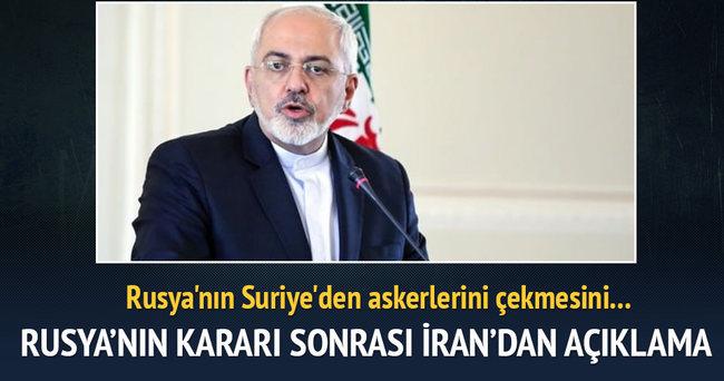 Rusya'nın kararı sonrası İran'dan açıklama