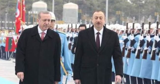İlham Aliyev Ankara'da