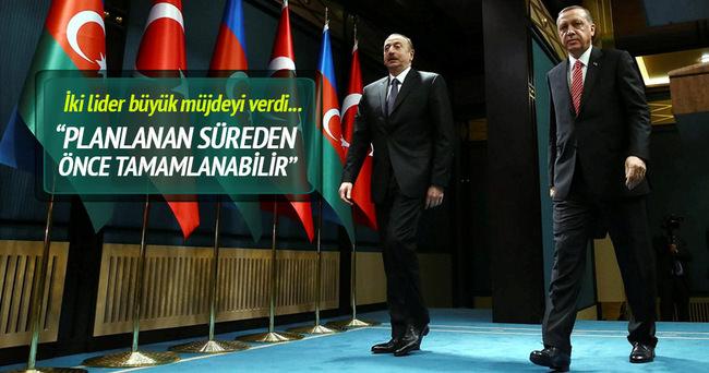 Cumhurbaşkanı Erdoğan İlham Aliyev ile ortak basın açıklaması yaptı