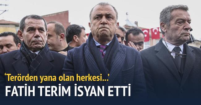 Fatih Terim'den terör tepkisi