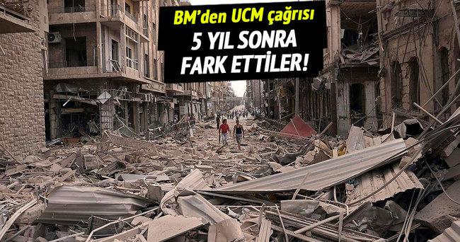 BM'den Suriye için UCM çağrısı