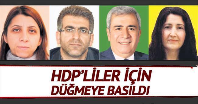 HDP'liler için düğmeye basıldı