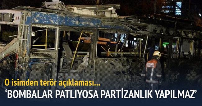 """Yalçın Topçu """"Bombalar Patlıyorsa Partizanlık Yapılmaz"""""""