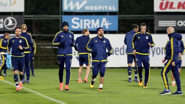 Fenerbahçe, Braga maçına hazır