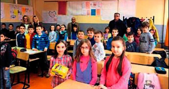 Kosova'da eğitim çalışmasına destek