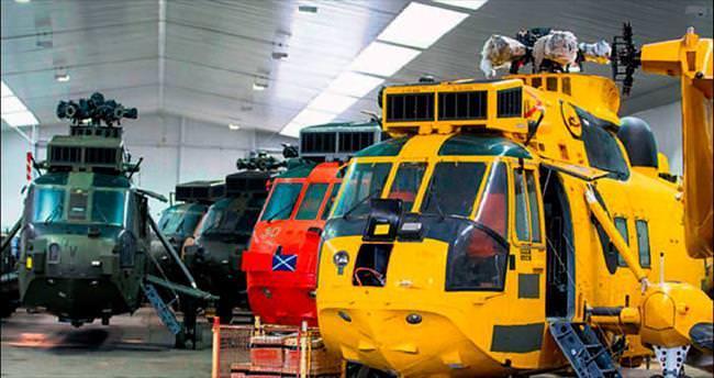 Ordunun emektar helikopterleri satılıyor