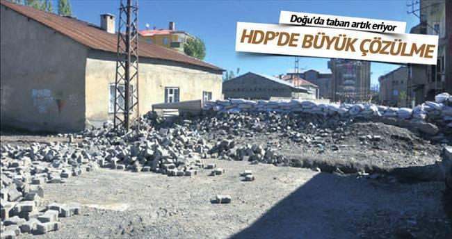 HDP'de büyük çözülme