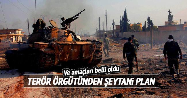 Terör örgütü PYD'nin alçak planı
