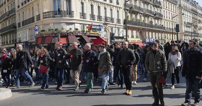 Fransa'da zam protestosu