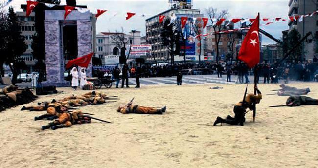 Çanakkale ruhu İstanbul'da canlandı