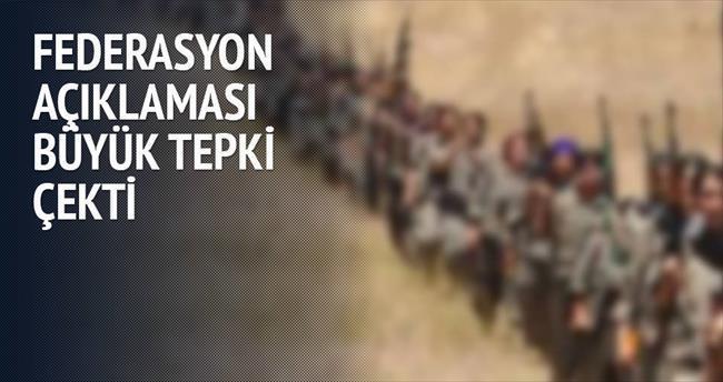 Kürt federasyonuna tepki yağıyor