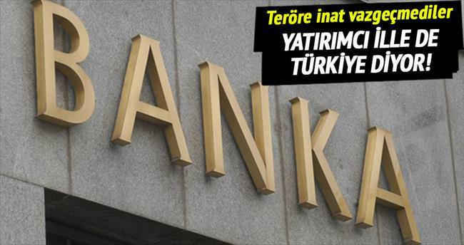 Yatırımcı ille de Türkiye diyor