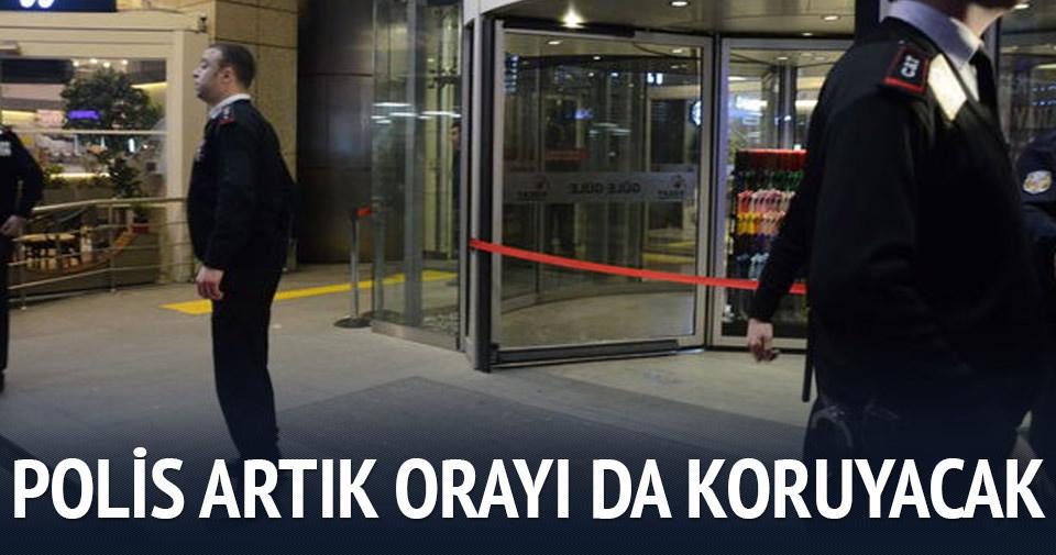 Ankara'da polis AVM'leri de koruyacak