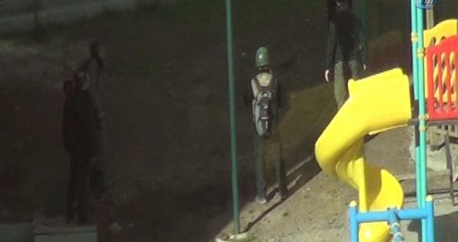 Şırnak'ta çocuk parkına mühimmat düştü
