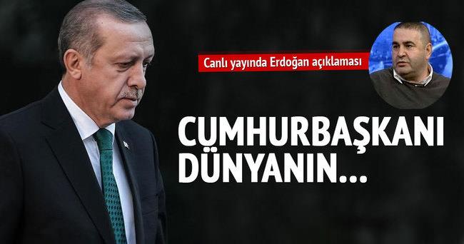 Şafak Sezer'den Erdoğan'a övgü dolu sözler