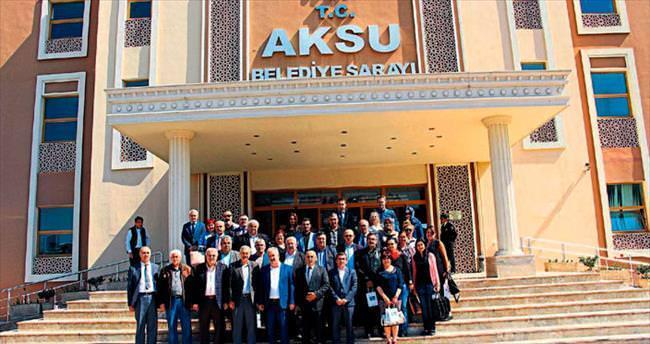 KKTC'li Başkanlar Aksu'da