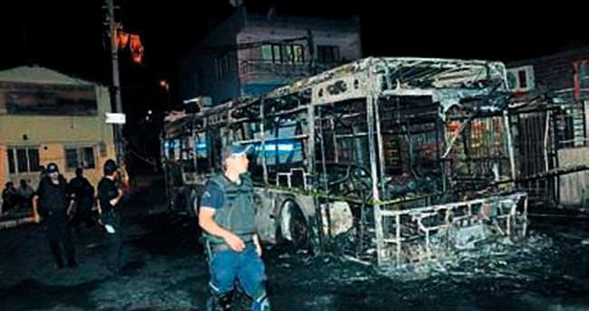 Otobüs yakanlara müebbet hapis talebi