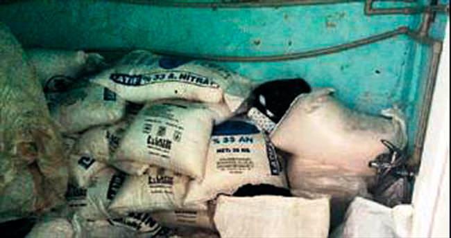 DBP'li yöneticinin evinden 2 ton 850 kil o patlayıcı çıktı