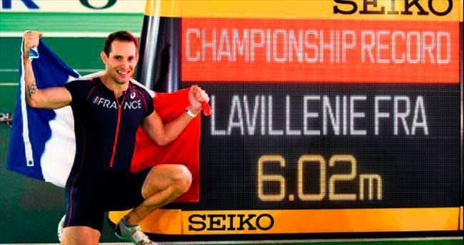 Renaud Lavillenie yine en yükseğe çıktı