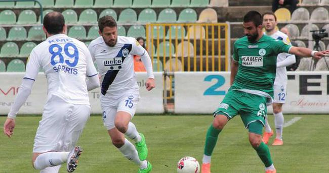 Erciyesspor 3-0'da geri döndü