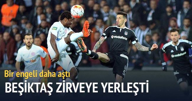 Beşiktaş Antalyaspor engelini tek golle geçti